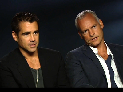 Colin Farrell and Martin McDonagh