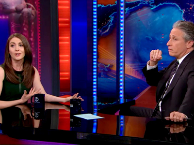 Alison Brie | February 19th 2013 | The Daily Show with Jon Stewart