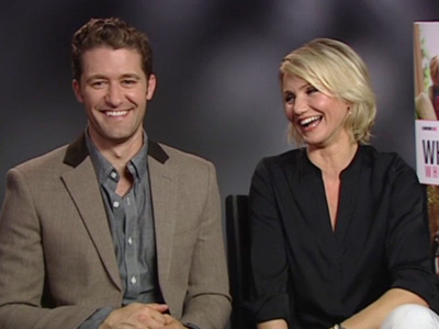 A Moment with...Cameron Diaz and Matthew Morrison