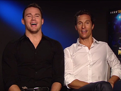 A Moment with...Channing Tatum and Matthew McConaughey Pt. 3
