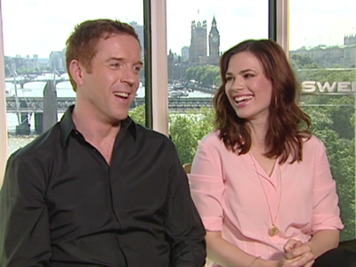 Damian Lewis and Hayley Atwell