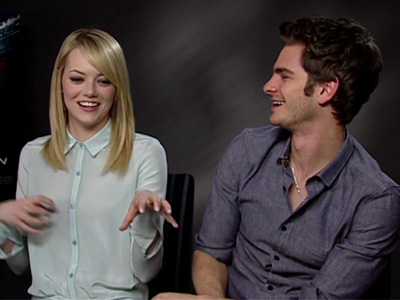 A Moment with...Andrew Garfield and Emma Stone - Comic Con Costume