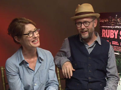 Ruby Sparks directors Valerie Faris and Jonathan Dayton