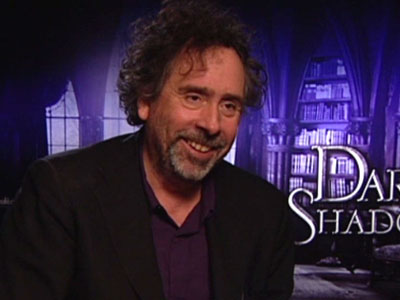 Tim Burton's surprising sense of humour