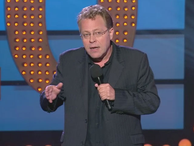 Live at the Apollo - Mike Wilmot escapes his wife's menopause