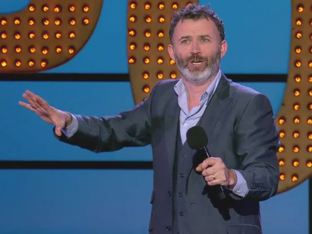 Live at the Apollo - Tommy Tiernan is proud to be Irish