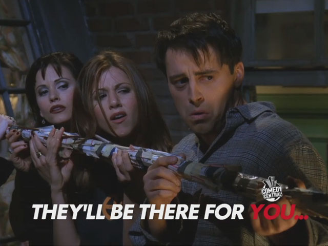 Friends - They'll Be There For You on Comedy Central