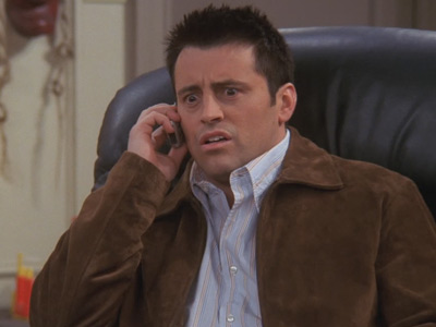Friends | 1015 | Estelle calls Joey from the dead