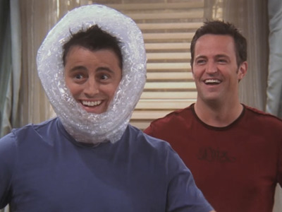 Friends | 1016 | Bubble Wrapped Joey