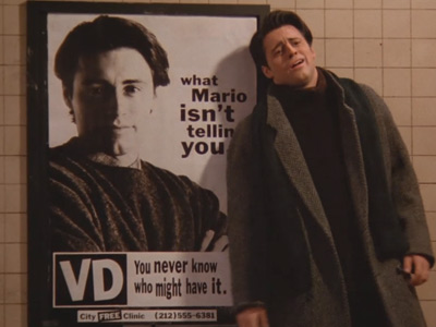 Friends | 109 | Joey has VD