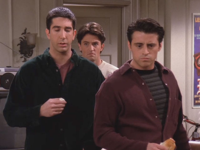 Friends | 115 | Ross and Joey practice dirty talk
