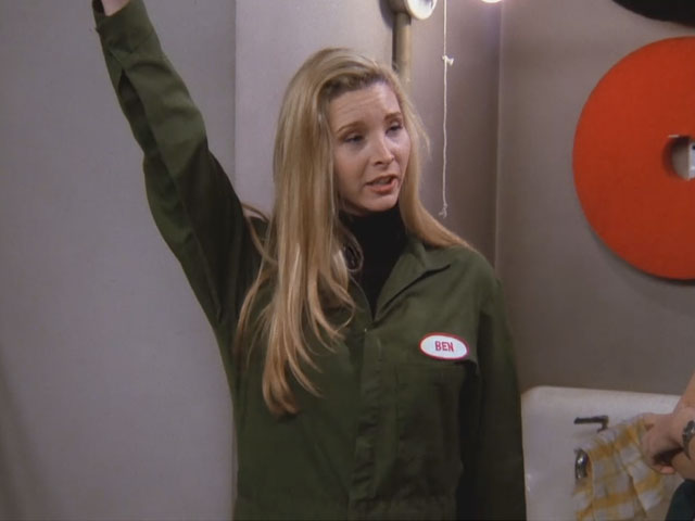 Friends | 123 | Phoebe dressed as hospital worker Ben