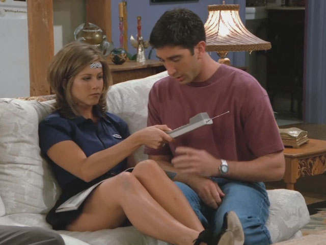 Friends | 201 | Rachel hangs up on Julie