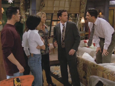 Friends | 204 | Chandler's Got a Third Nipple!