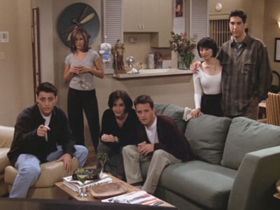 Friends | 204 | The gang watch Joey's porno