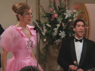 Friends | 224 | Rachel sings Copacabana at Barry and Mindy's Wedding
