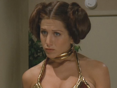Friends | 301 | Rachel dresses as Princess Leia