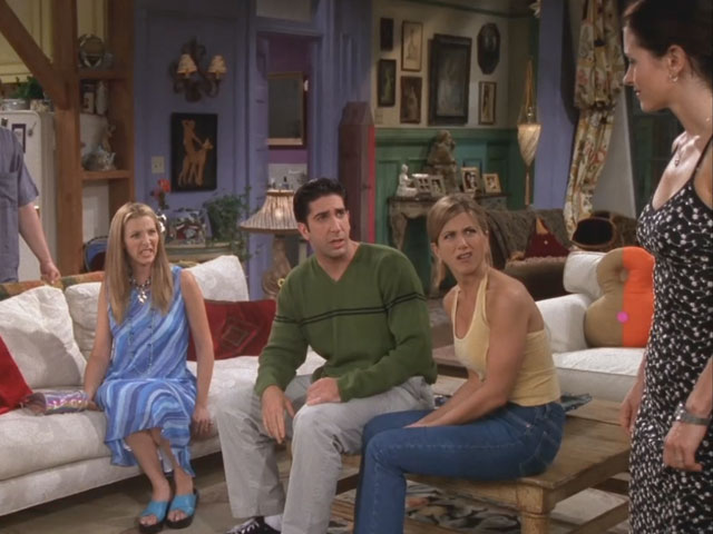 Friends | 401 | Monica got stung, stung bad