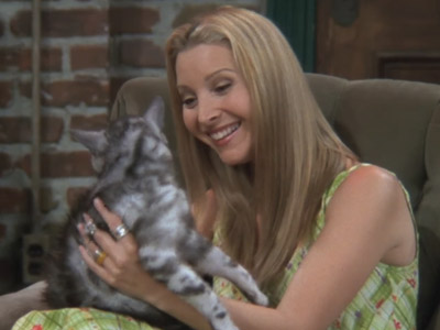 Friends | 402 | Phoebe's Cat Mother