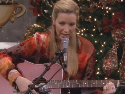 Friends | 410 | Phoebe's Christmas Song