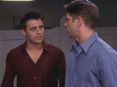 Friends | 610 | Joey wets Tall Guy's pants