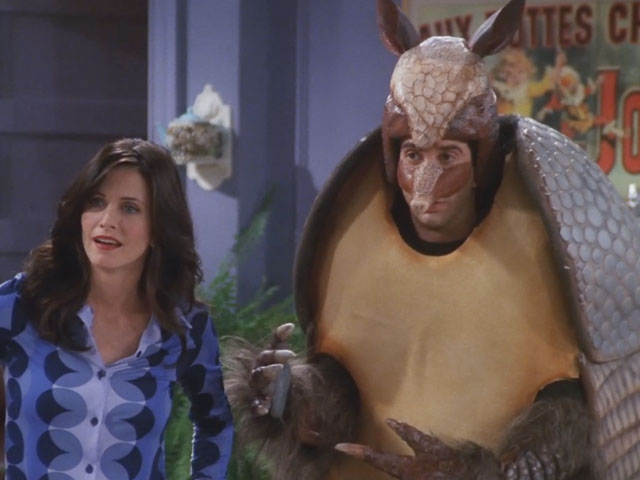 Friends | 710 | Ben meets the Holiday Armadillo