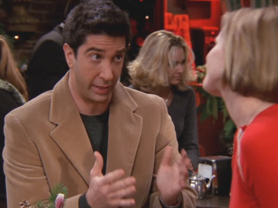 Friends | 811 | Ross and Mona have 'The Talk'