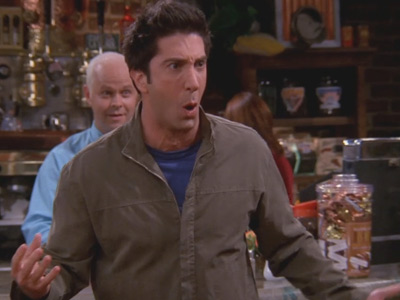 Friends | 902 | Joey punches Ross