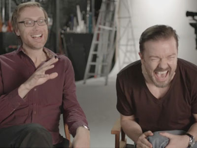 Ricky Gervais and Stephen Merchant Introduce The US Office