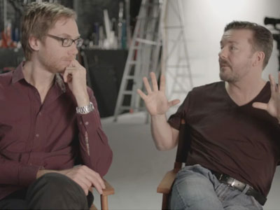 Ricky Gervais and Stephen Merchant: From Slough to Scranton