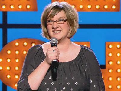 Sarah Millican Trapped in her Bra - Michael McIntyre's Comedy Roadshow
