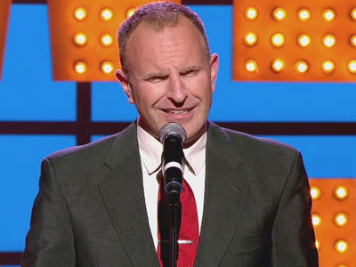 Simon Evans Explains his Tiny Eyes - Michael McIntyre's Comedy Roadshow