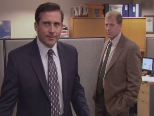 Watch The Office - Season 5 Episode 08: Frame Toby english ...