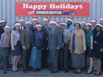 Happy Holidays | The Office | 711