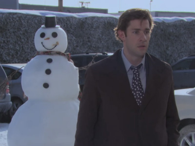 Snowball Fight! | The Office | 711