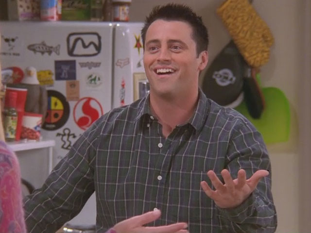 Friends coming soon to Comedy Central - Joey Speaking French