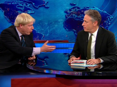 The Daily Show Teaser - Boris Johnson