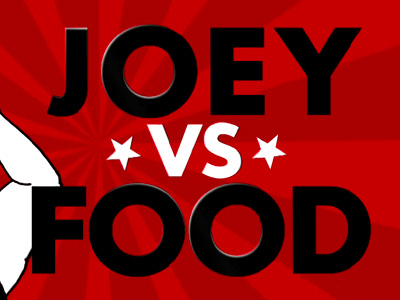 Joey vs Food - Friends promo