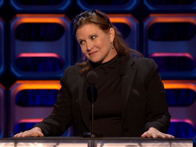 Carrie Fisher roasts Jeff Ross and Wayne Brady