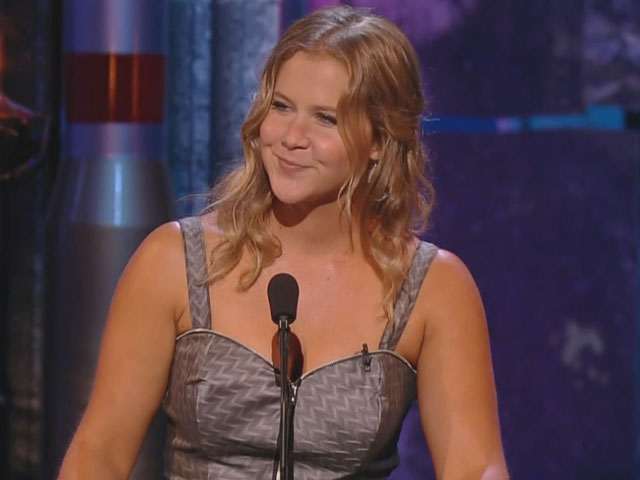 Amy Schumer likens Charlie Sheen to Bruce Willis