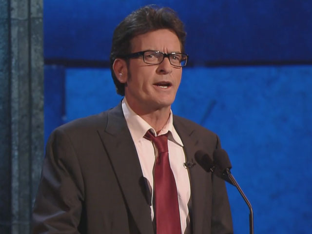 Charlie Sheen has the last word