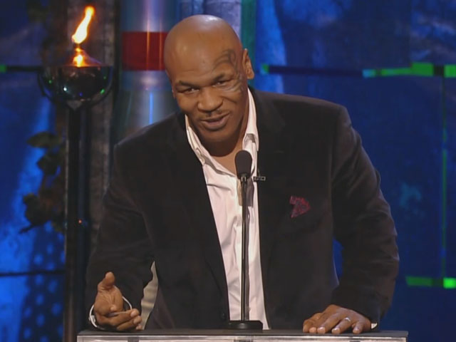 Mike Tyson roasts Charlie Sheen