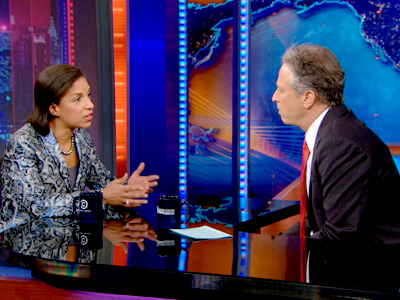 Susan Rice| February 14th 2013 | The Daily Show with Jon Stewart