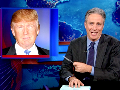Stewart vs Trump - The Daily Show