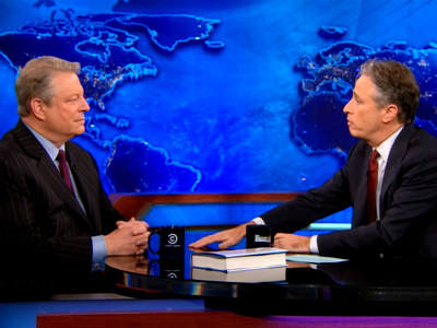 Al Gore Extended Interview - The Daily Show