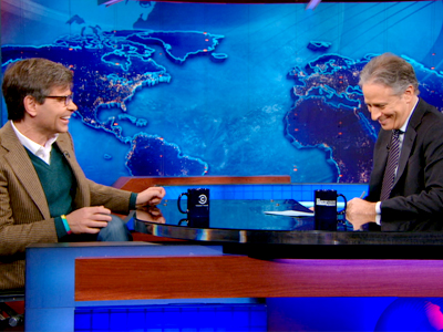George Stephanopoulos | February 11th 2013 | The Daily Show with Jon Stewart