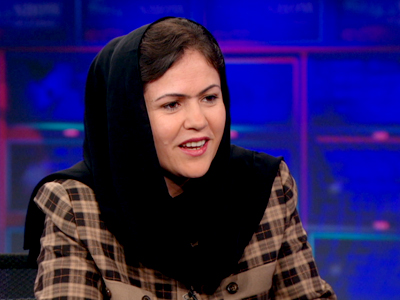 Fawzia Koofi | February 14th | The Daily Show with Jon Stewart