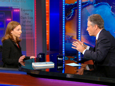 Helaine Olen | February 20th 2013 | The Daily Show with Jon Stewart