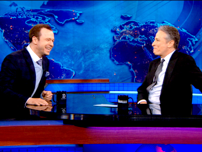 Donnie Wahlberg | February 25th 2013 | The Daily Show with Jon Stewart