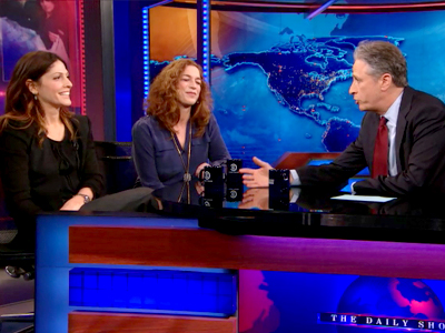 Lori Silverbush and Kristi Jacobson | February 26th 2013 | The Daily Show with Jon Stewart